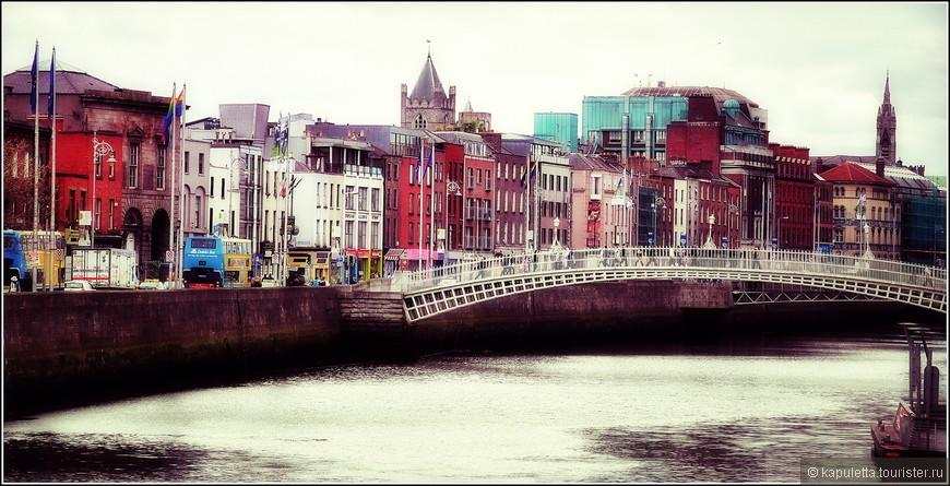 Река Лиффи впадает в Ирландское море.