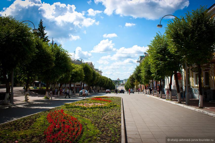 Местный Арбат - пешеходная улица