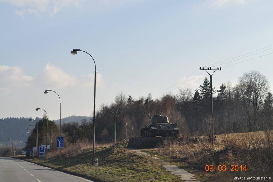Дороги Словакии в сторону Венгрии ..