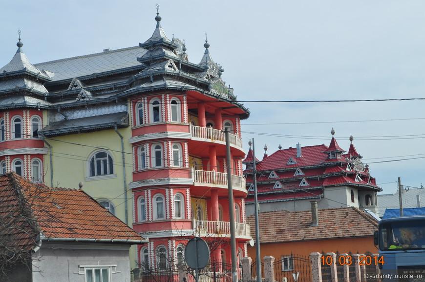 Цыганские поселения)))