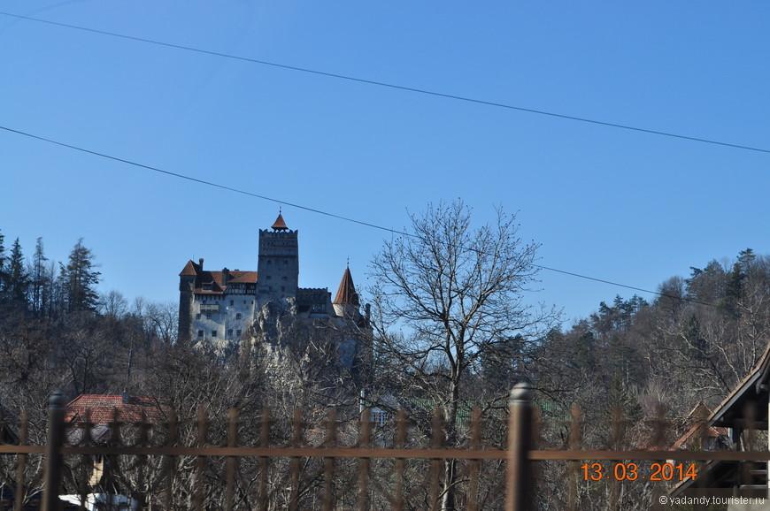 Замок графа Дракулы)...городок Бран