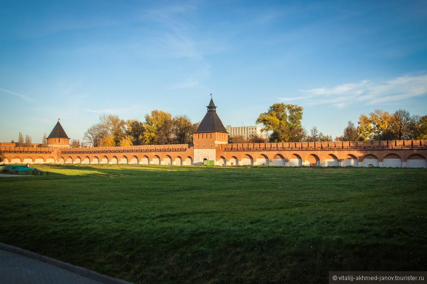 Стены Кремля изнутри