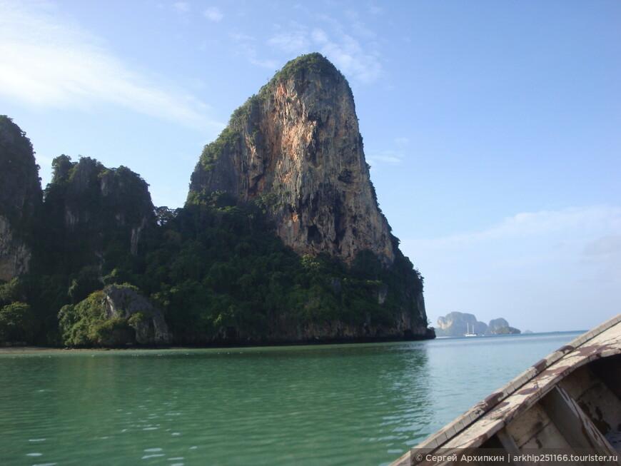 За скалой будет пляж Пха Нанга - ехали всего 20 минут