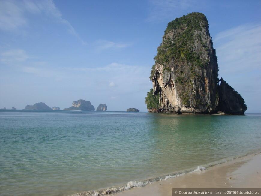 Изумительные виды открываются с этого пляжа на Андаманское море