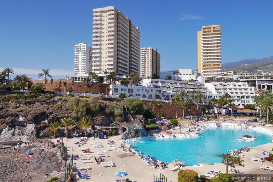 морской бассейн при Fiesta Hotel Playa Paraiso