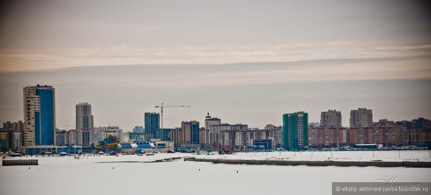 Противоположный берег Казанки