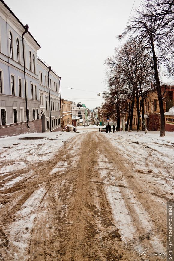 Улицы Казани 1 января 2012 в послеобеденное время