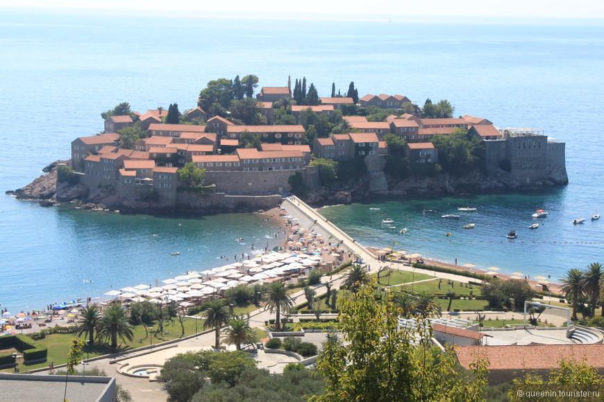 остров Святого Стефана (для VIP персон с давних времен)