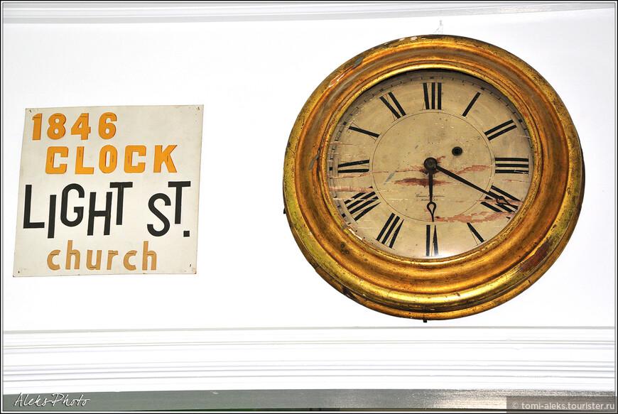Церковные часы, датируемые 1846 годом, — экспонат музея...