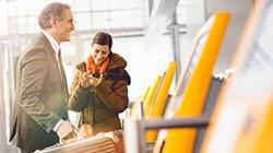 Пассажиры Lufthansa смогут сами печатать багажные бирки