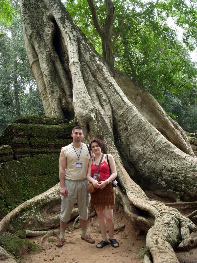 Храм Та-Пром. Камбоджа.