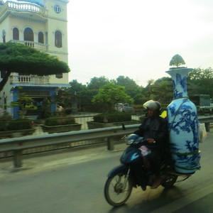 Ханой из окошка такси