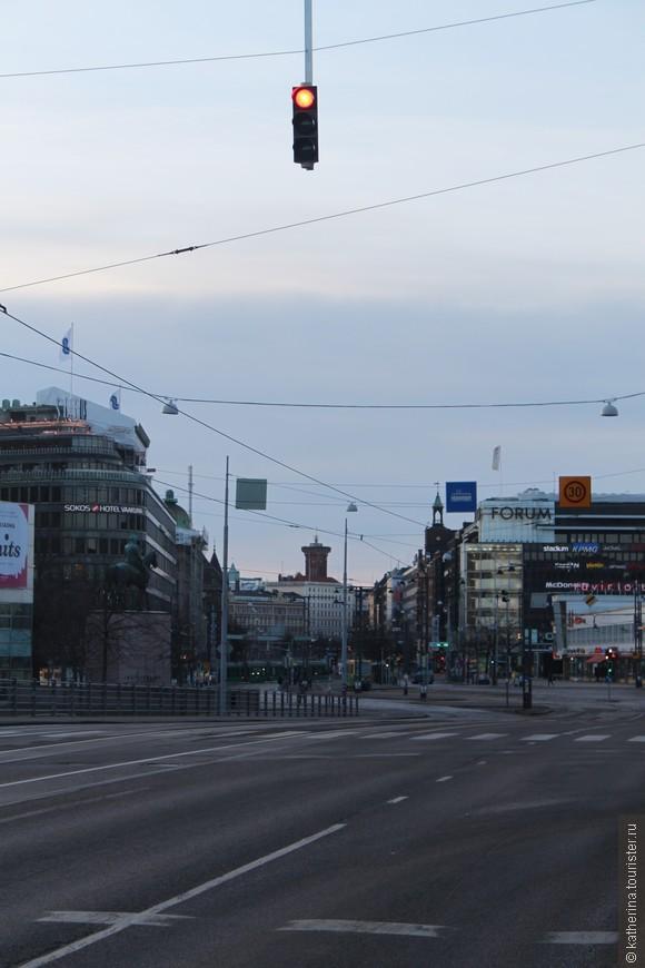 Пустой Хельсинки просто очарователен