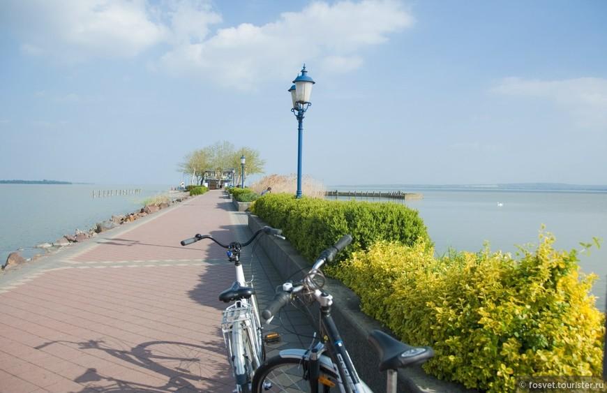 набережная озера Балатон