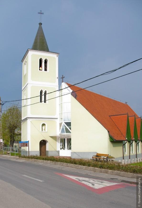 зеленая церковь