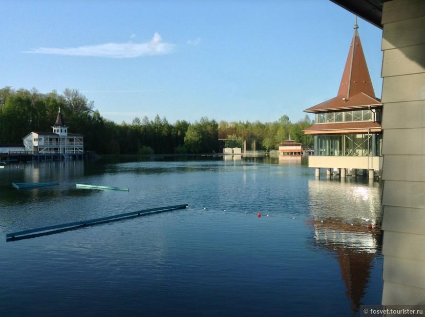 озеро Хевиз, спа-центр