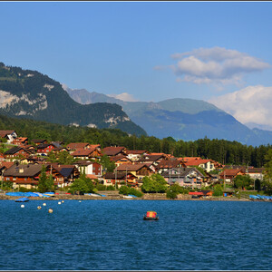 В краю швейцарских озер. Бриенц