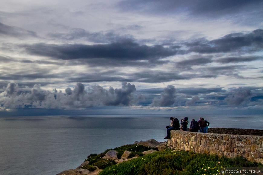 Мыс Cabo da Roca, в 40 км от Лиссабона
