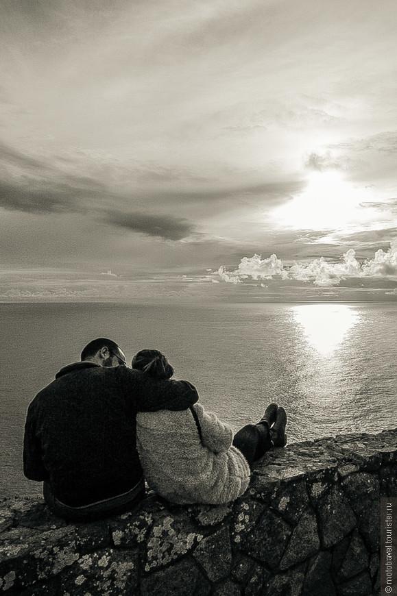 Закат на мысе Cabo da Roca