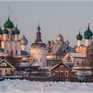 Ростовский кремль. Вид с озера Неро.