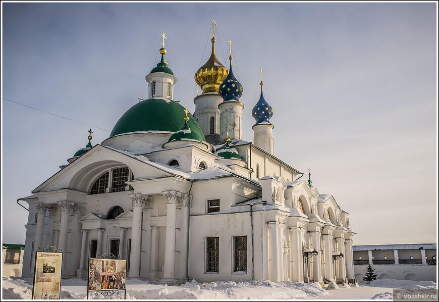 Ростов Великий. Спасо-Яковлевский Димитриев монастырь.