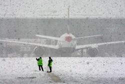 Снегопад задержал более 20 рейсов в «Кольцово»
