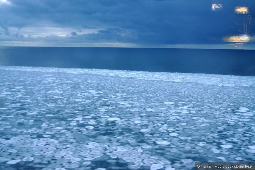 Пробиваемся, сквозь льды на пароме. Маршрут Хельсинки-Таллин
