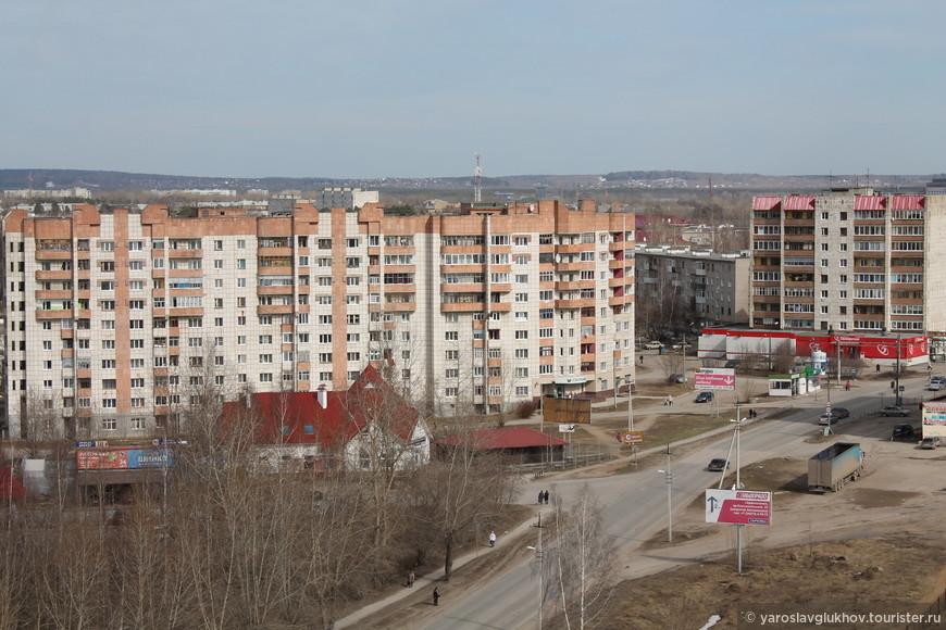 """Сотовая вышка """"Krasnokamsk""""."""
