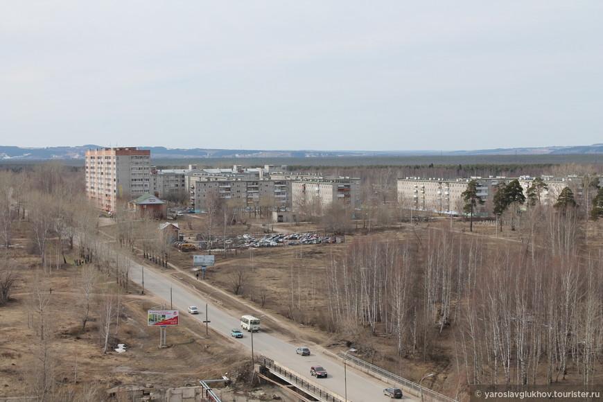 Микрорайоны МЖК (Молодёжный жилищный комплекс) и Запальта.