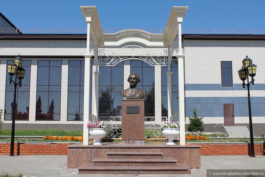 Памятник Державину.