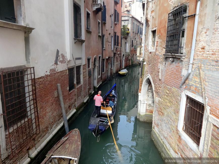 Один из бесчисленных видов на каналы Венеции. Поэма каналов, камня и гондол