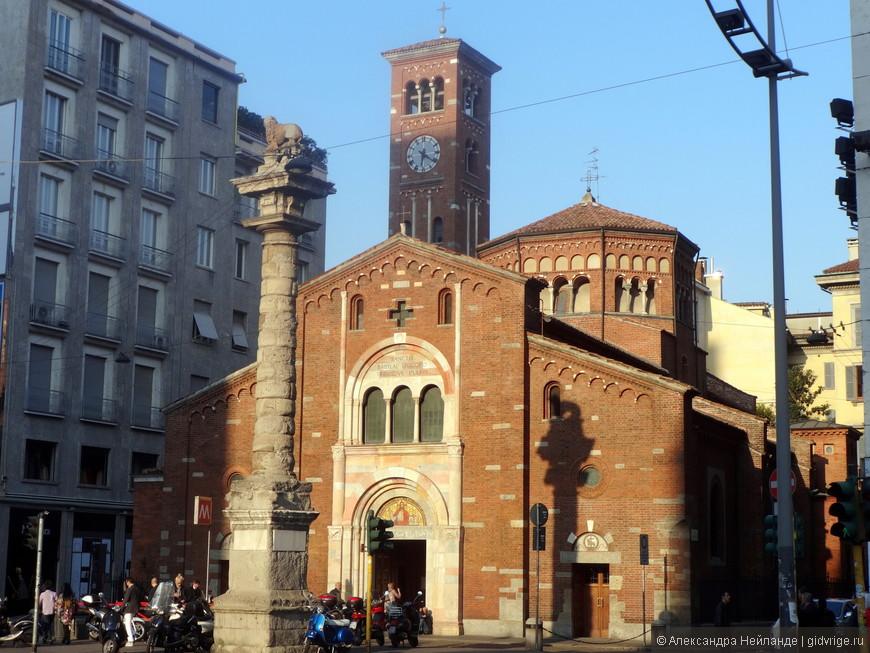 Старина в Милане зажата новостройками