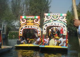 Сочимилко-Мексика, декабрь 2009 г.