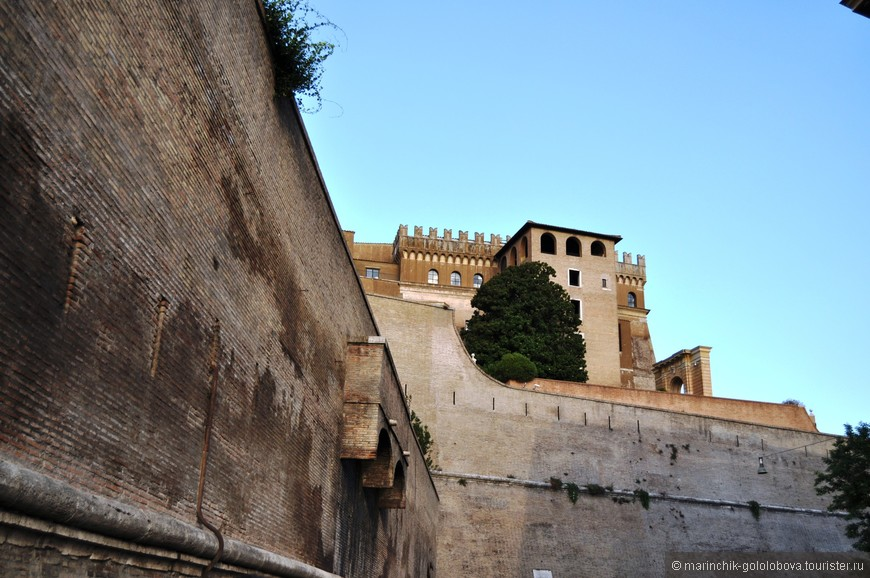 Стены Ватикана