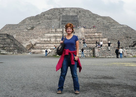 Теотиуакан-Мексика, январь 2010 г.