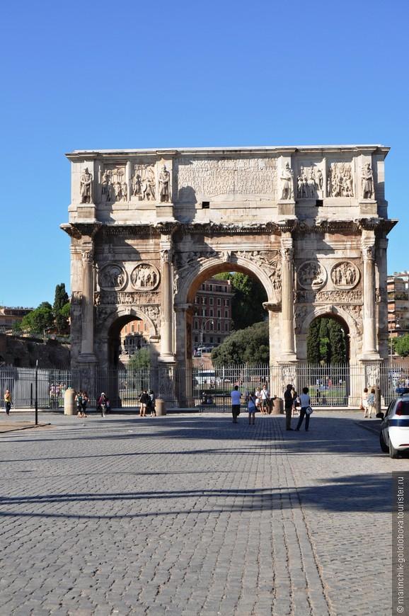 Арка Тита является старейшей триумфальной аркой в Риме, построенная в честь победы императора Тита над восстанием евреев в Палестине.