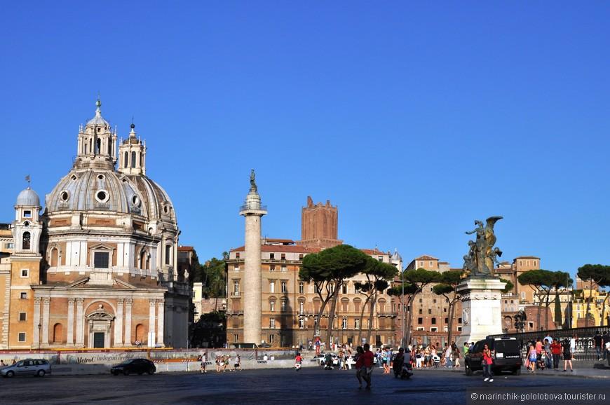 Один из недостатков Рима - огромное количество туристов.
