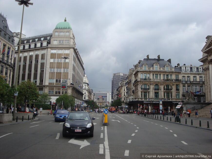 Район Биржи в Брюсселе