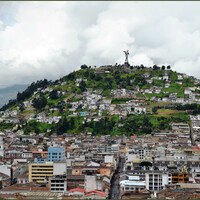 Одна из гланых визитных карточек города - холм Эль Панесильо.