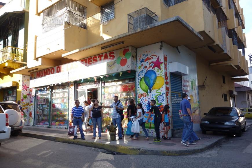 Улочки в старом городе. Типичная латиноамериканский стиль.