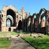Фрагмент развалин аббатства.