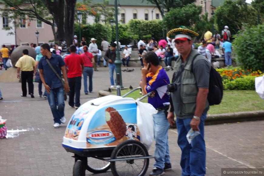 Аборигены города Сан Хосе.