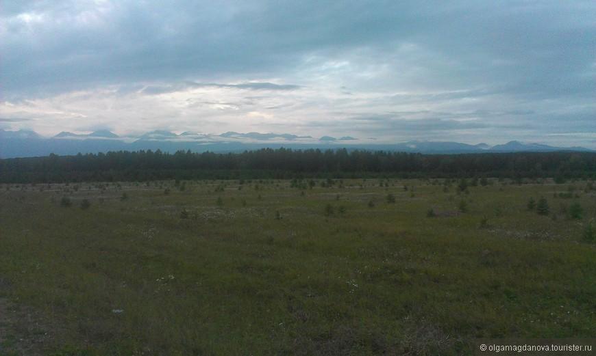 Вид на Тункинскую долину.