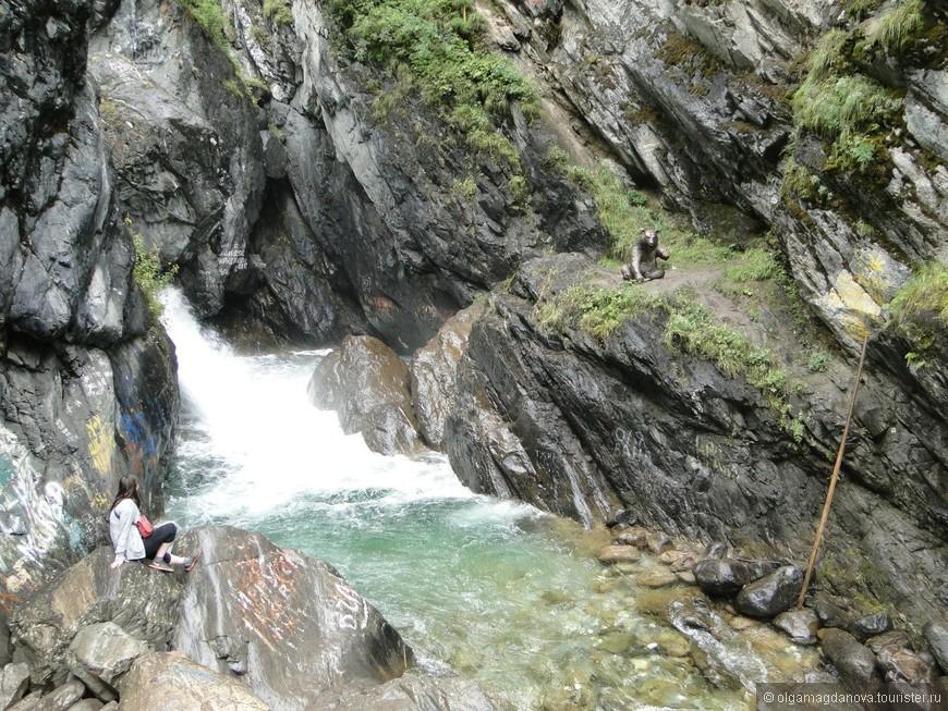 Тот самый первый водопад.