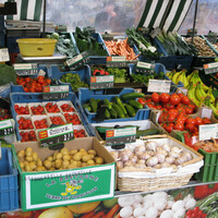 Яркие краски овощей отлично подняли настроение в прохладный осенний день.