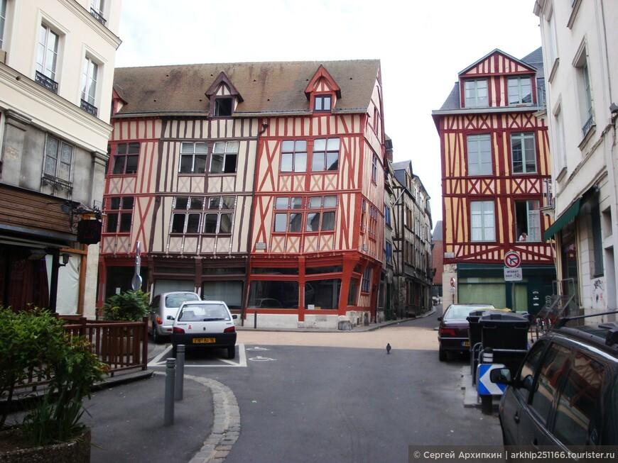 Средневековые улочки Руана
