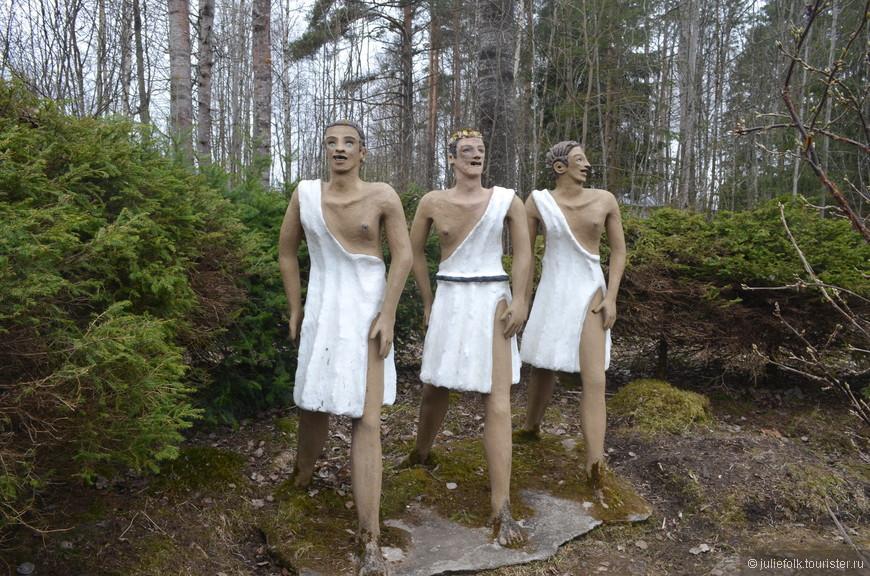 А вот древние греки.