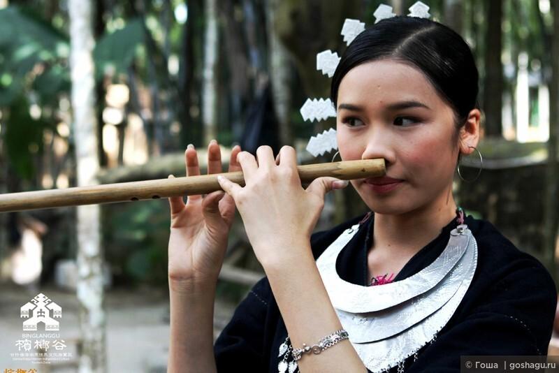 национальный музыкальный инструмент из бамбука.
