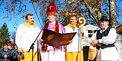 В Хорватии отмечают «винный» праздник имени святого Мартина