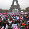 Манифестация недовольства французов.